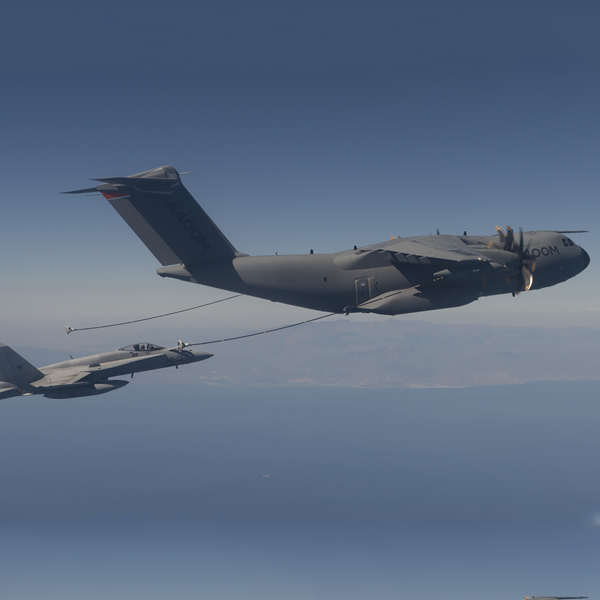 Cobham Enables Airbus A400M Air-to-Air Refuelling Flight Demo