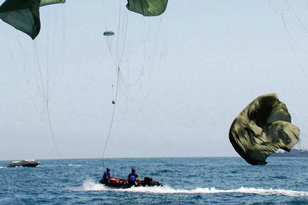 Water Activated Parachute Releases