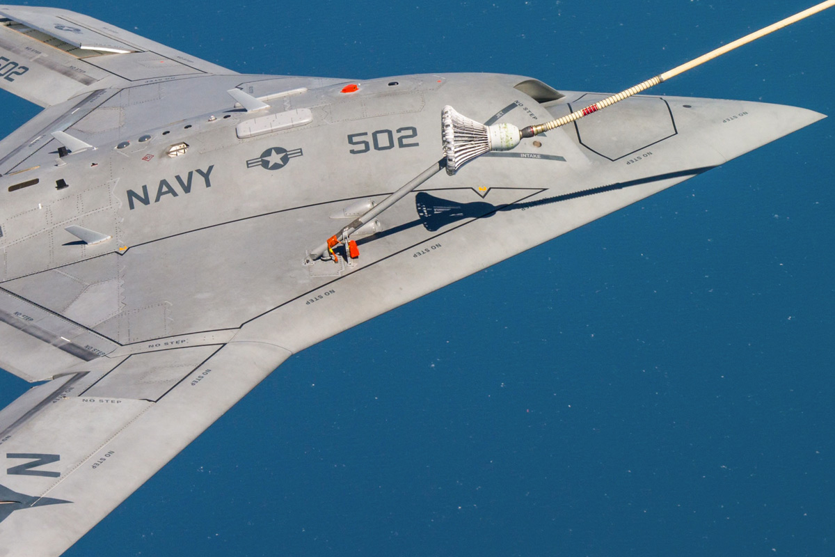 Cobham Equipment Proves X-47B Autonomous Refuelling