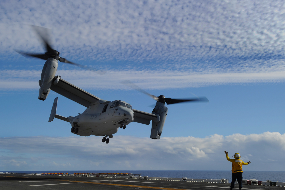 Cobham Contracted to Develop Aerial Refueling Kit for V-22