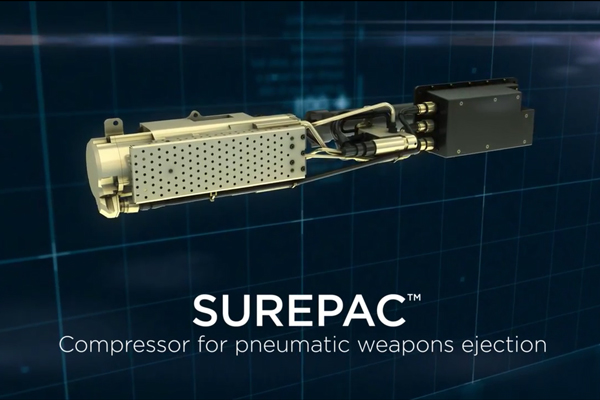 Cobham SUREPAC Smart Compressor for Weapons Ejection