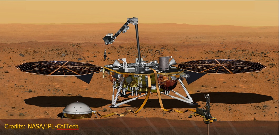 Cobham Technology Enables NASA's InSight Mission to Mars
