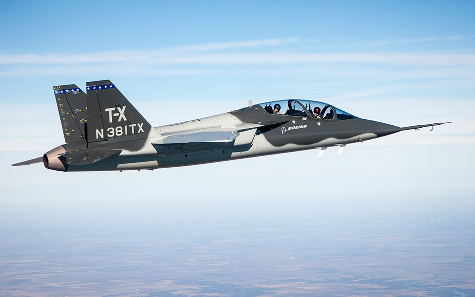 Cobham Selected to Supply Oxygen System for Boeing T-X